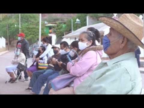 Remote Mexican villages start Covid-19 vaccination
