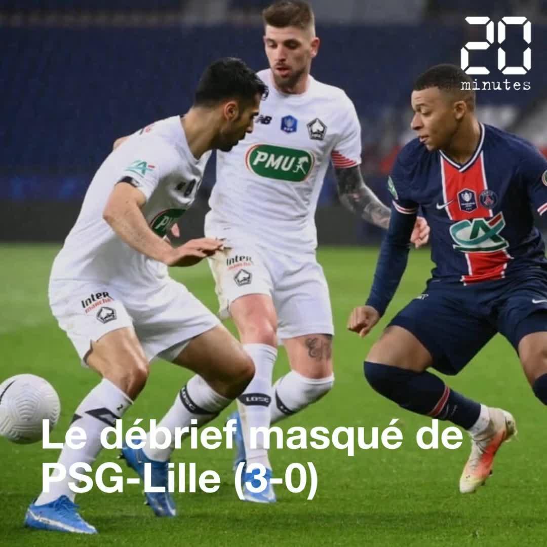 Le débrief de PSG-Lille