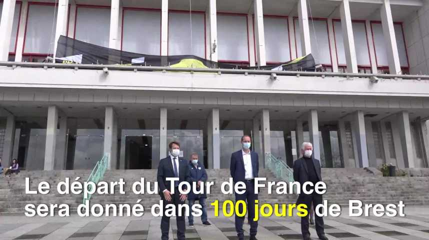 Thumbnail Tour de France : top départ de Brest dans 100 jours