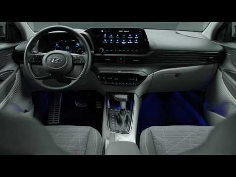 The all-new Hyundai BAYON Interior Design