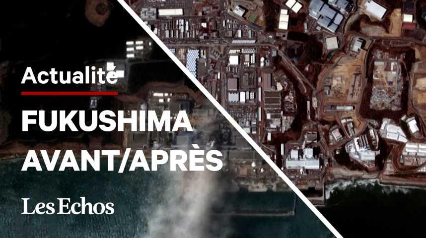 Illustration pour la vidéo Vu du ciel, l'impact du tsunami de 2011 au Japon est toujours là