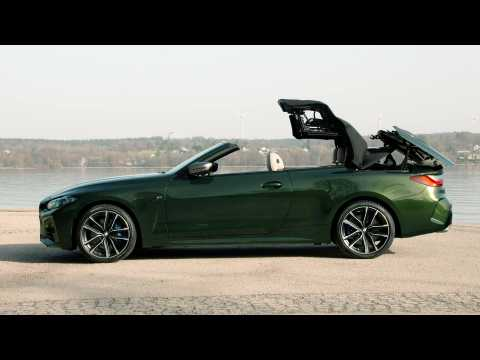The all-new BMW 4 Series Convertible Design Preview