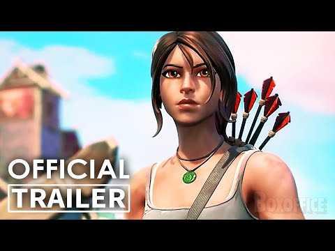 LARA CROFT in FORTNITE Trailer (2021) Tomb Raider