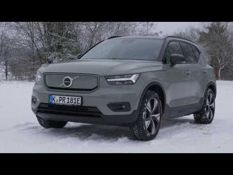 Volvo XC40 BEV - Recharge P8 Preview
