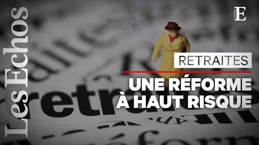 Illustration pour la vidéo La très sensible question de l'âge de départ à la retraite