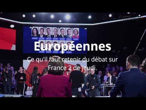 Européennes: que retenir du débat de France 2 ?