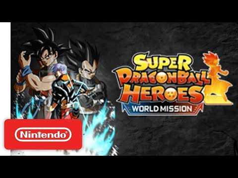 Super Dragon Ball Heroes: World Mission - Launch Trailer - Nintendo Switch