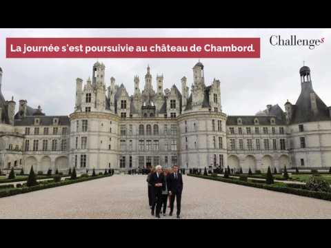 La visite de Macron et Mattarella à Amboise pour célébrer Léonard de Vinci