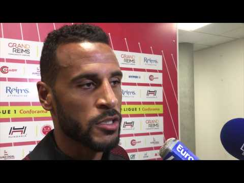 Football. Réaction d'Alaixys Romao après Reims - Saint-Etienne (0-2)