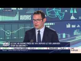 Les tendances sur les marchés: Le CAC 40 gagne près de 16% depuis le 1er janvier, stop ou encore ? - 08/04