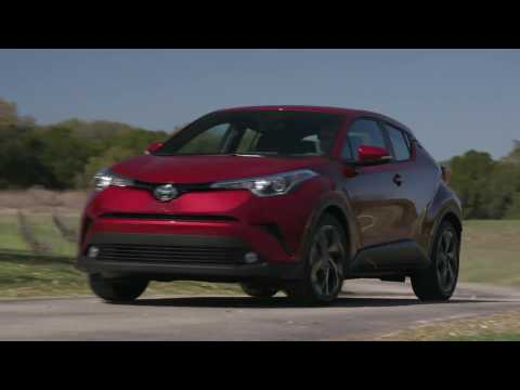 2018 Toyota C-HR in Red Driving Video