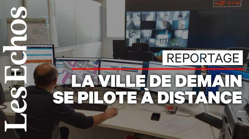 Illustration pour la vidéo Dijon devient la première ville pilotée à distance