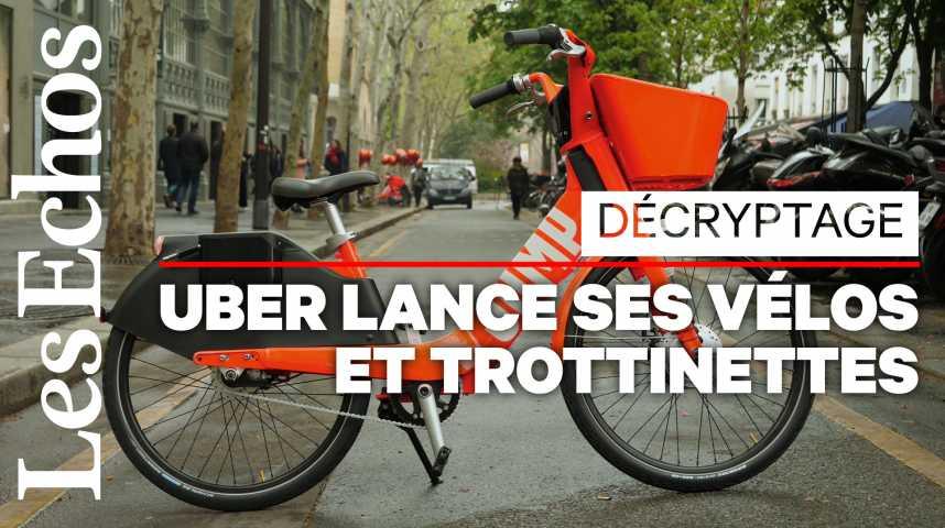 Illustration pour la vidéo Vélos et trottinettes électriques : et si Uber renversait le marché ?