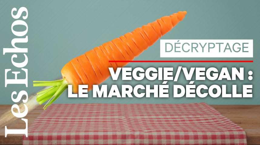 Illustration pour la vidéo Produits vegans ou végétariens : les ventes décollent en supermarché