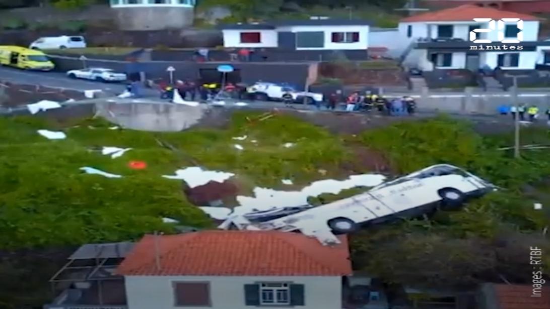 Madère: Au moins 29 touristes allemands tués dans un accident de bus