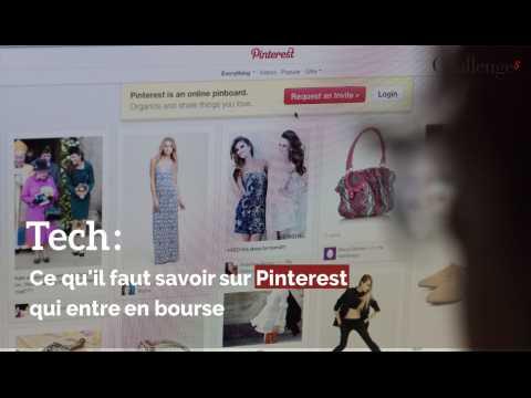 Tech : Ce qu'il faut savoir sur Pinterest qui entre en bourse