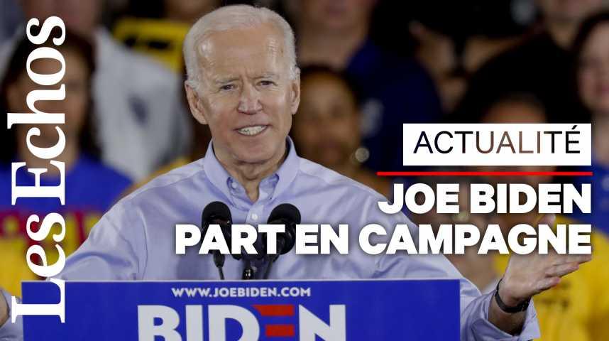 Illustration pour la vidéo Joe Biden choisit la Pennsylvanie pour lancer sa campagne présidentielle