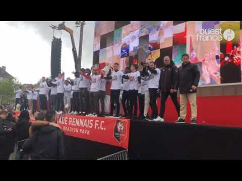 Coupe de France. Rennes communie avec son équipe !