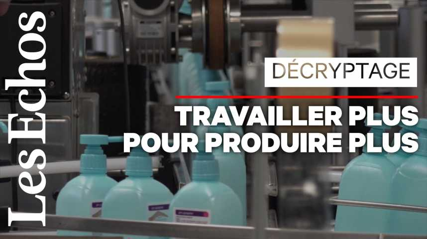 Illustration pour la vidéo Gel hydroalcoolique : comment les fabricants s'adaptent