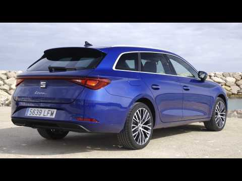 The all-new Seat Leon Sportstourer XCellence Mistery Blue Design