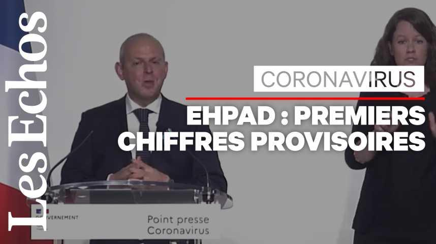Illustration pour la vidéo Coronavirus : au moins 884 décès dans les Ehpad