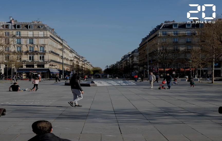 A Paris et à Londres, des signes de relâchement au niveau du confinement durant le week-end.