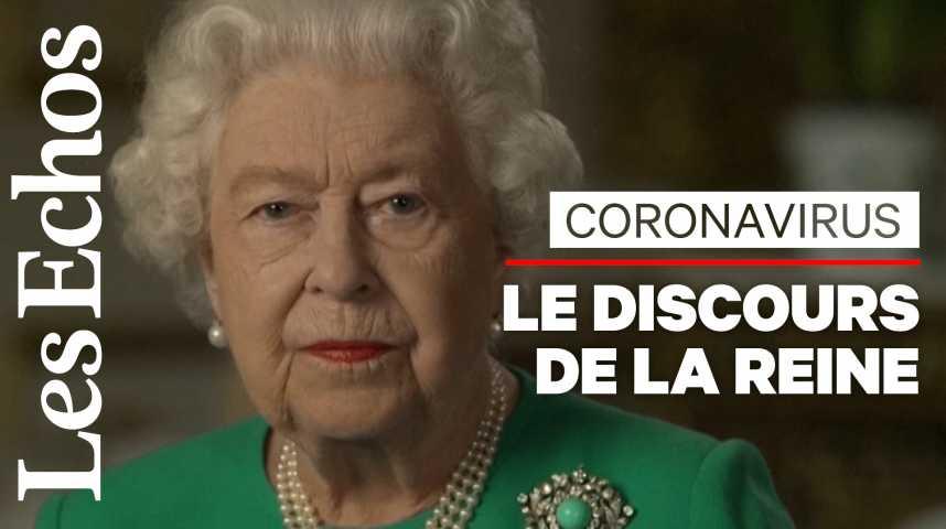 Illustration pour la vidéo Elizabeth II sur le coronavirus : « Nous réussirons, et ce succès appartiendra à chacun de nous »