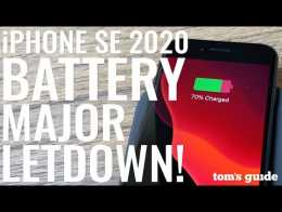 IPhone SE 2020 battery life is a major letdown