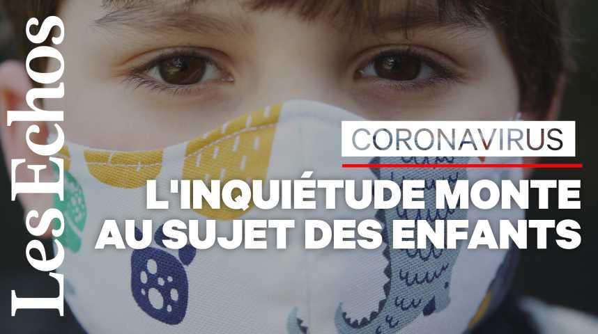 Illustration pour la vidéo Coronavirus chez les enfants : focus sur la maladie de Kawasaki