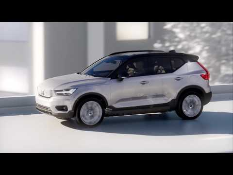 The New Volvo XC40 Recharge - Fully electric all-wheel-drive powertrain