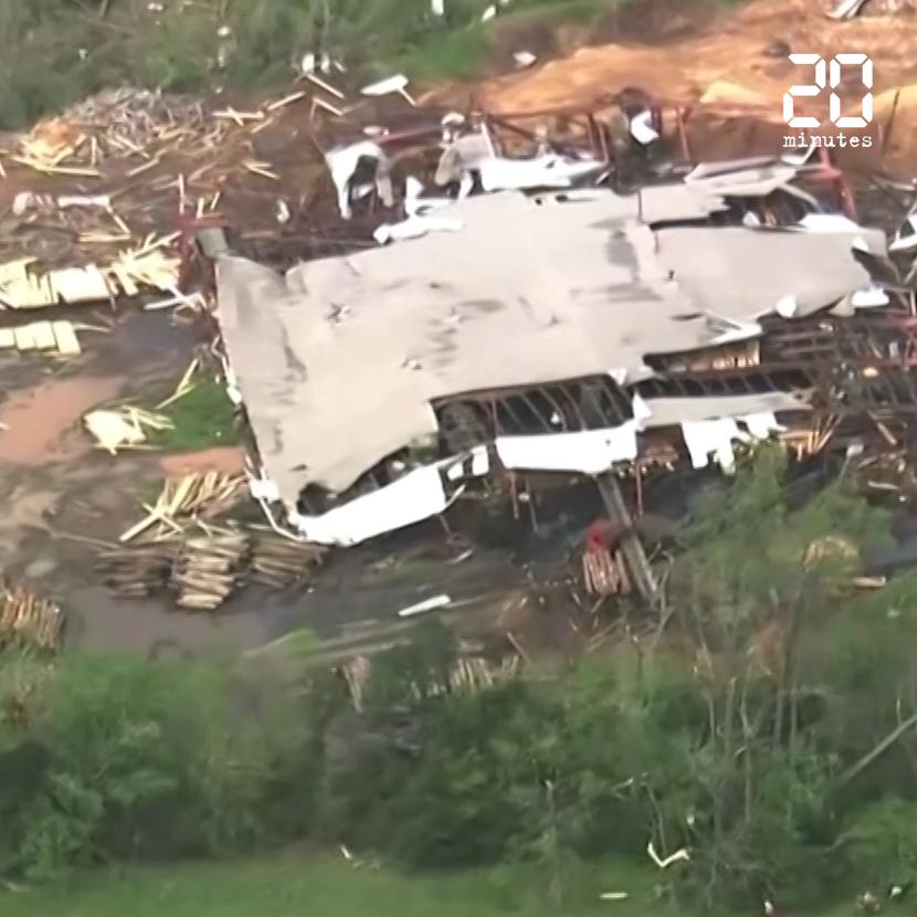 Etats-Unis : Des tornades font au moins 32 morts dans les Etats du sud