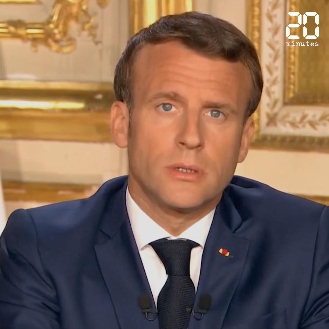Coronavirus: Ce qu'il faut retenir du discours d'Emmanuel Macron