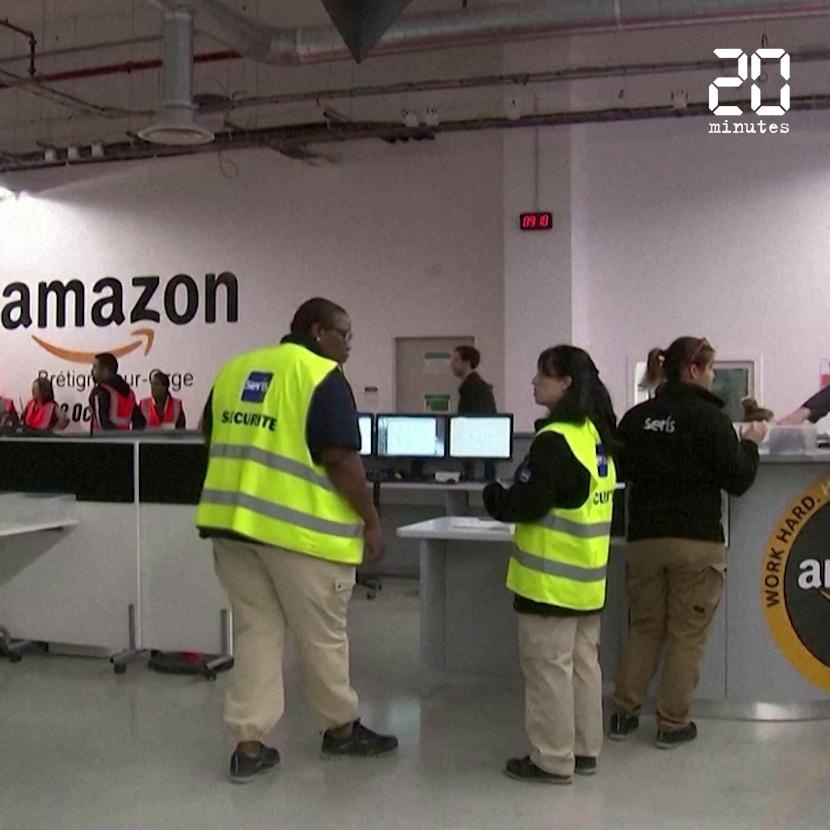 Coronavirus : Amazon, rappelé à l'ordre par la justice, ferme ses sites français pour une durée indéterminée
