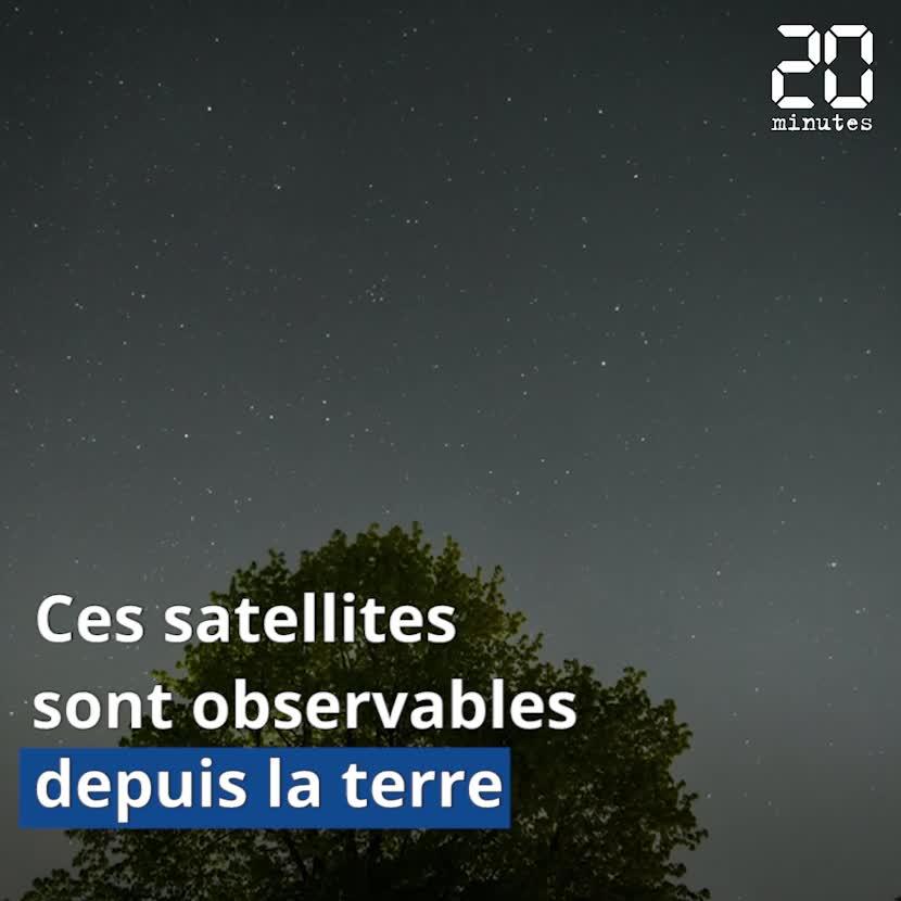 VIDEO. Les satellites Starlink s'invitent dans le ciel de nos nuits