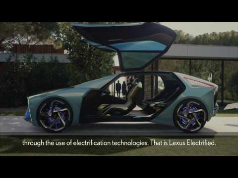 Lexus Electrified - UX300e Message from the Chief Engineer
