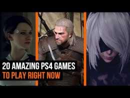 20 jogos PS4 incríveis para jogar agora