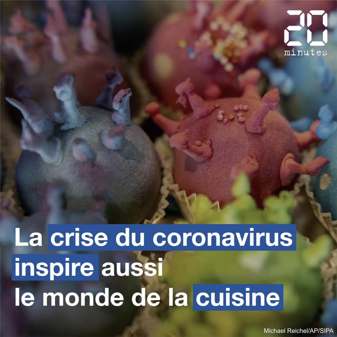 Coronavirus : Le monde de la cuisine inspiré par la crise