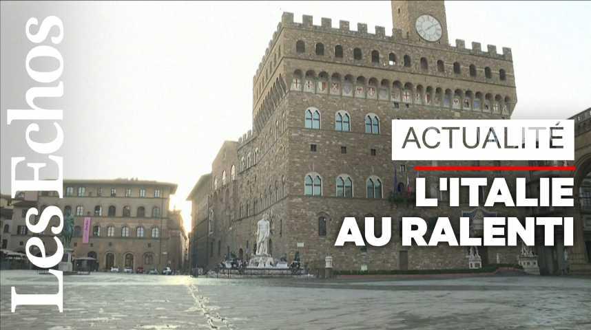 Illustration pour la vidéo Face au coronavirus, 60 millions d'Italiens concernés par des mesures drastiques