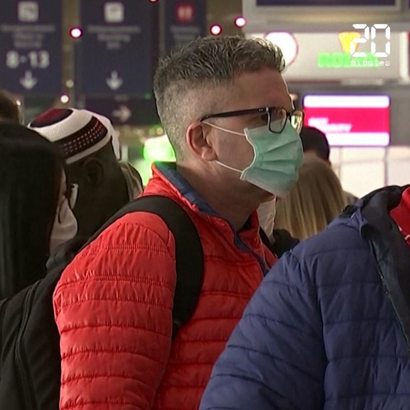 Coronavirus: Après l'annonce de Trump, des voyageurs contraints d'annuler leur vol vers les Etats-Unis