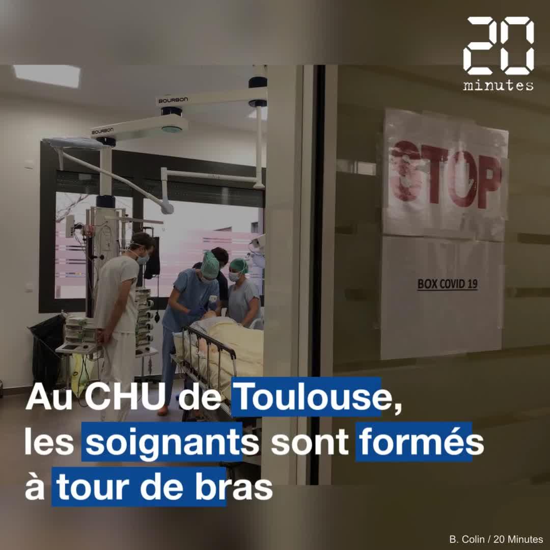 A Toulouse, le CHU forme ses soignants à tour de bras