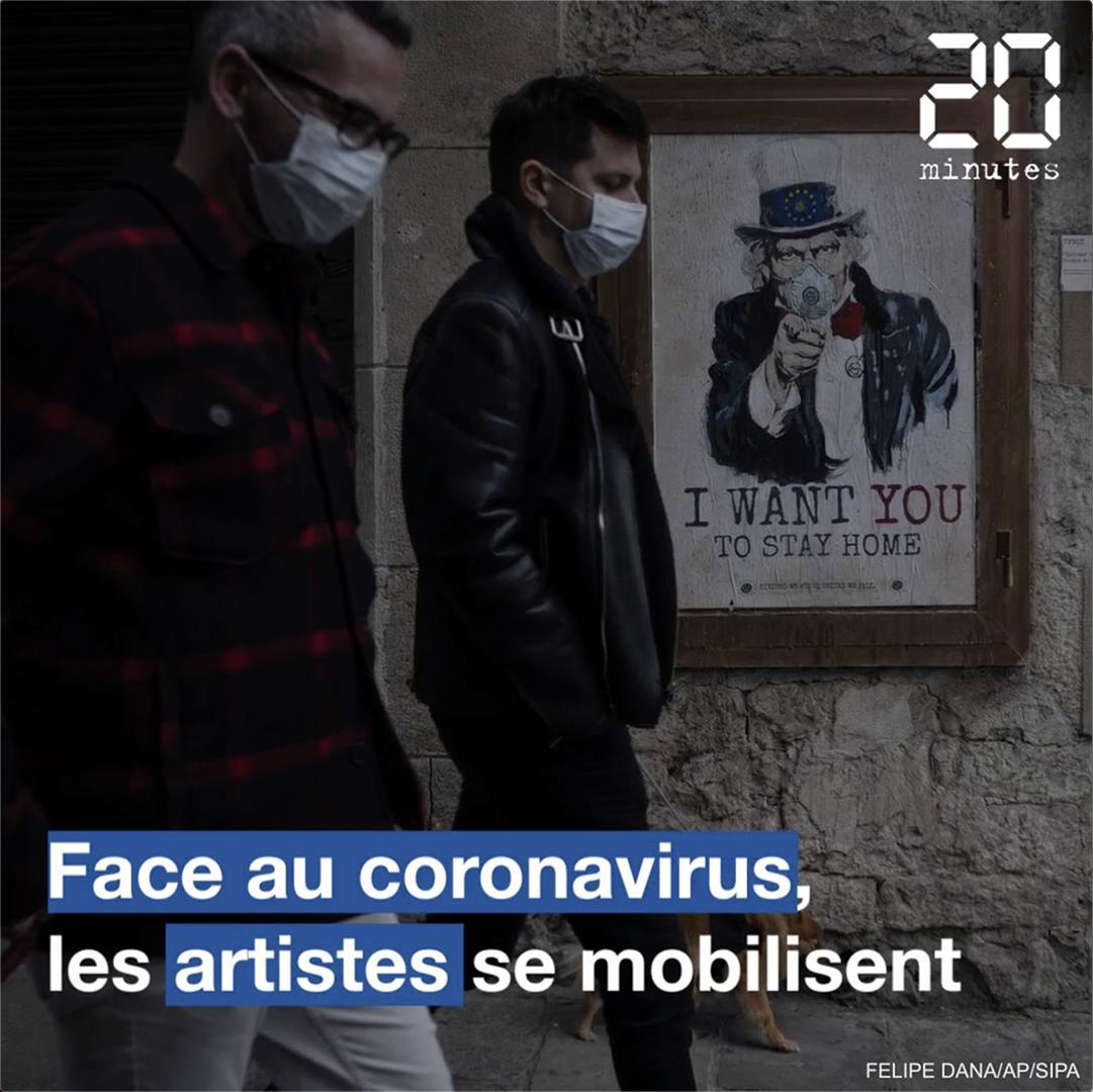 Coronavirus : Les artistes se mobilisent dans le monde entier
