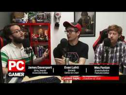 The PC Gamer Show: Loot boxes, Shadow of War, The Orange Box turns 10, and more