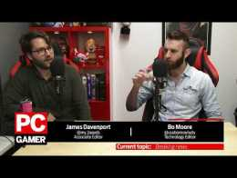 The PC Gamer Show - Hellblade, Overwatch summer fashion, Dota cards, and more