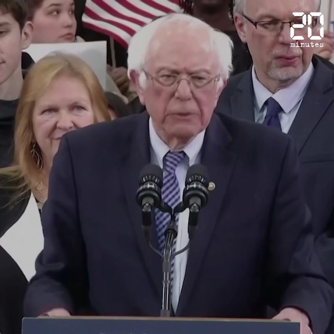Présidentielle américaine : Bernie Sanders jette l'éponge