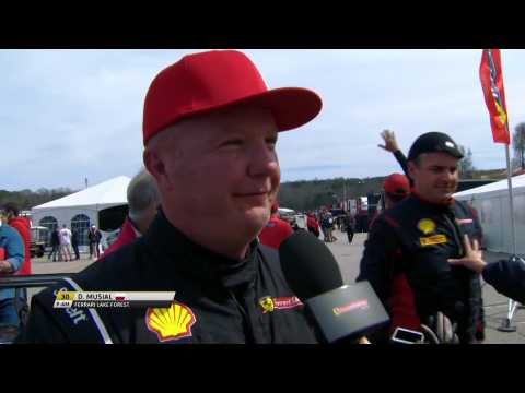 Ferrari Challenge NA - Dave Musial talks race 2 results at Road Atlanta