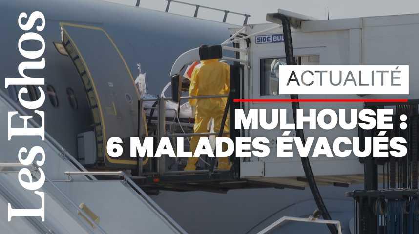 Illustration pour la vidéo Coronavirus : l'armée de l'air a évacué 6 malades de Mulhouse