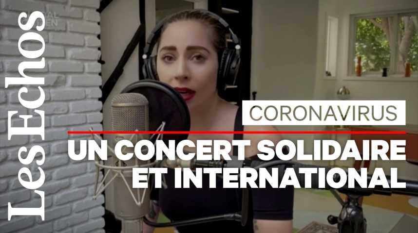 Illustration pour la vidéo Coronavirus / concert « One World » : 70 stars et 200 millions de dollars