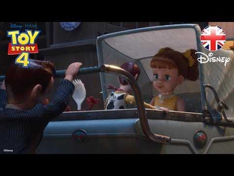 TOY STORY 4 | Woddy and Forky Meet Gabby Gabby! Movie Clip | Official Disney Pixar UK