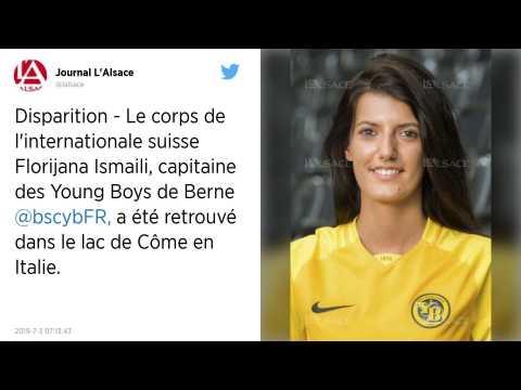 Le corps de Florijana Ismaili, la footballeuse suisse, retrouvé dans le lac de Côme