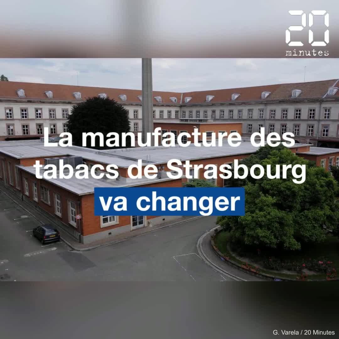 La manufacture des tabacs de Strasbourg va être réhabilitée